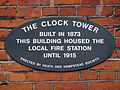 The Clock Tower built in 1873 this building housed the local fire station until 1915.jpg