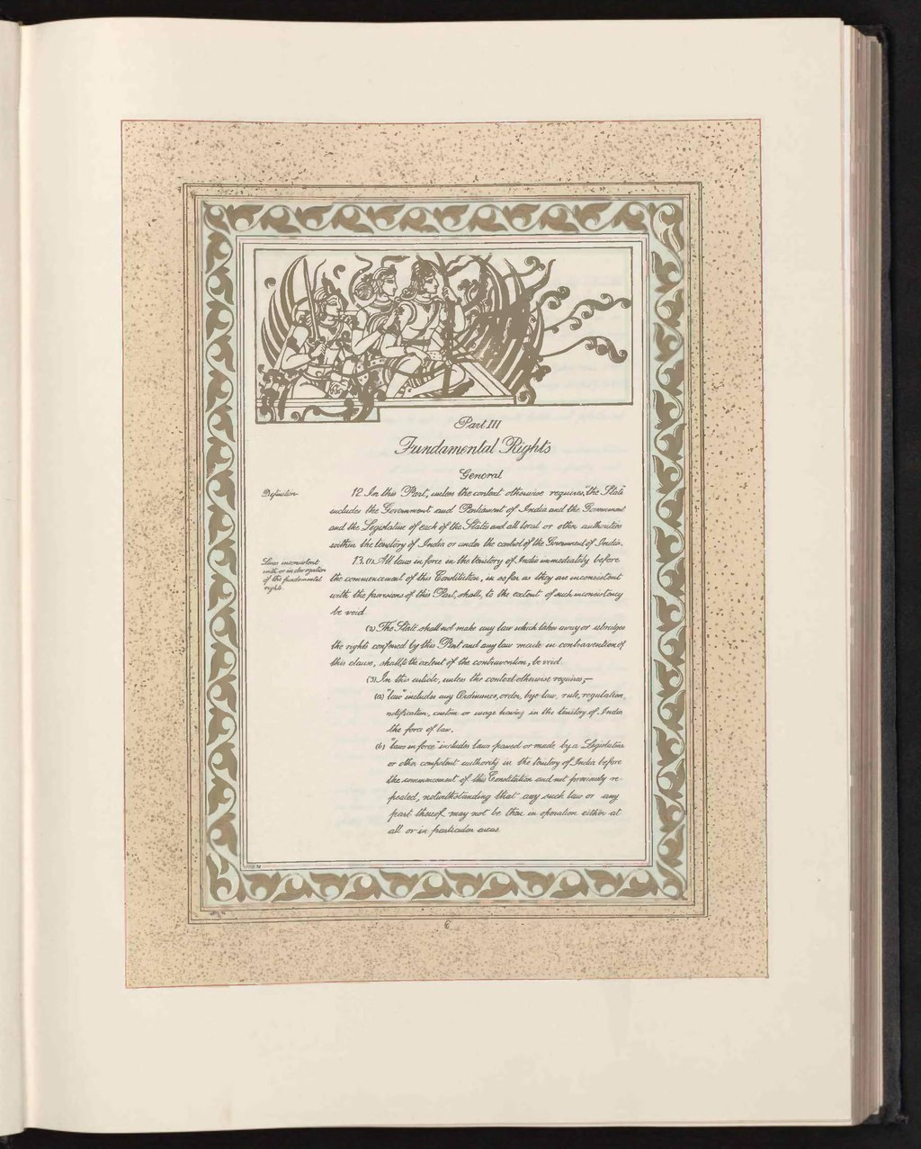 Page:The Consution of India (Original Calligraphed and ... on page title,