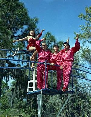 The Flying Wallendas - Image: The Flying Wallendas Sarasota, Florida