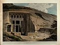 The Great Chaitya Temple on the island of Salsette, Maharash Wellcome V0050484.jpg