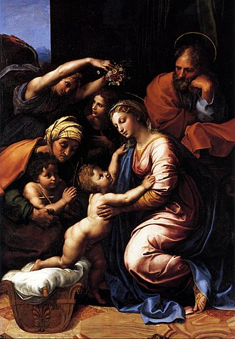 Holy Family - The Holy Family, by Raphael