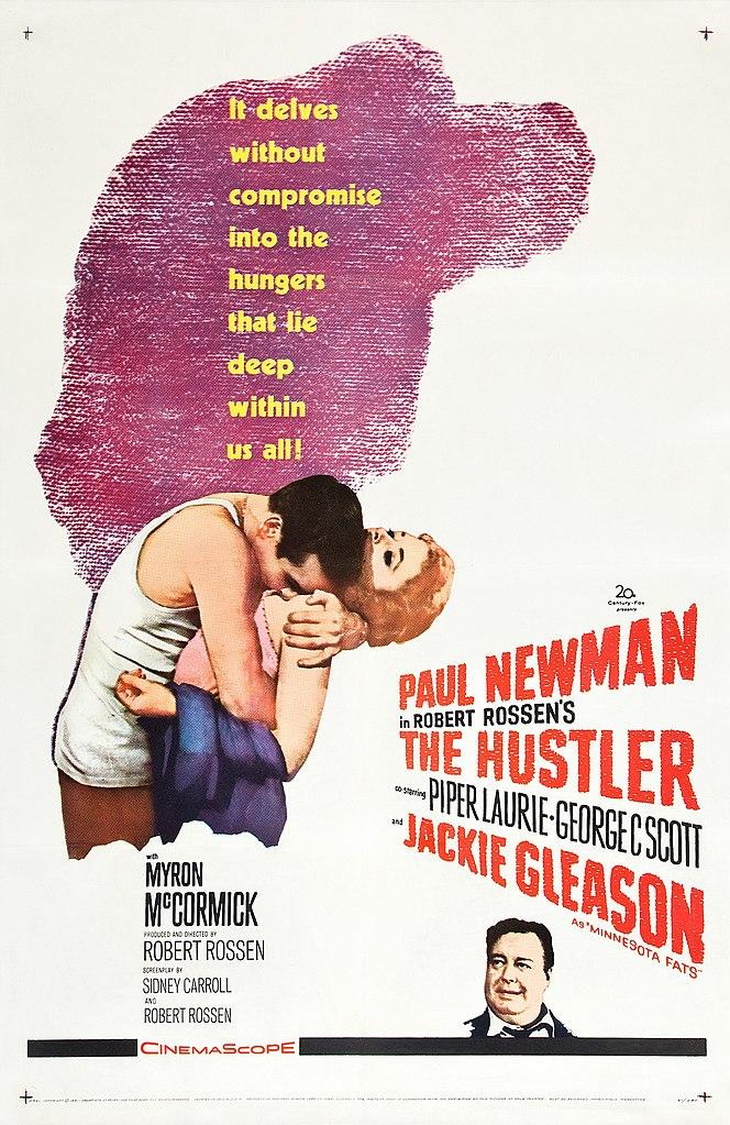 File:The Hustler (1961 film poster).jpg - Wikimedia Commons