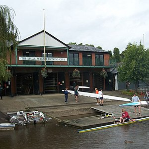 King's School, Chester - Image: The King's School Rowing Club geograph.org.uk 1005921