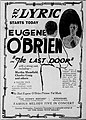 The Last Door (1921) - Ad 1.jpg