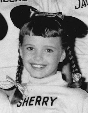 Sherry Alberoni - Sherry Alberoni as a Mousketeer on The Mickey Mouse Club, circa 1956