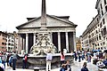The Pantheon and the Fontana del Pantheon in Rome (Ank Kumar) 06.jpg