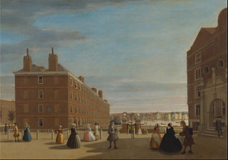 The Paper Buildings, Inner Temple, London