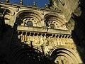 The Porta das Praterias, Cathedral of Santiago de Compostela - Porta das Praterias, Catedral de Santiago de Compostela - panoramio.jpg