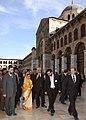 The President, Smt. Pratibha Devisingh Patil visited Umayyad Mosque, at Damascus in Syria on November 26, 2010 (2).jpg