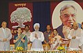 The President, Smt. Pratibha Patil releasing a book 'Abhinandan Granth - Kalpavraksh' on Dr. Balram Jakhar on his 85th birth anniversary, at Balayogi Auditorium, Parliament House, in New Delhi on September 07, 2007.jpg