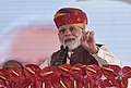 The Prime Minister, Shri Narendra Modi addressing the Public Rally, in Barmer, Rajasthan on January 16, 2018 (2).jpg