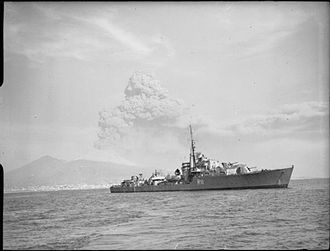 HMS Tumult (R11) - Image: The Royal Navy during the Second World War A22840