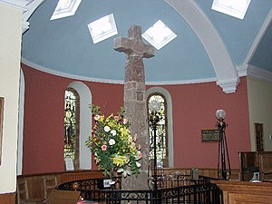 English: The Ruthwell Cross. The cross contain...