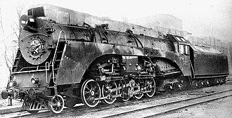 2-10-4 - Soviet class OR23, c. 1949