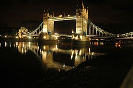 The Tower Bridge, London in the night 1.jpg