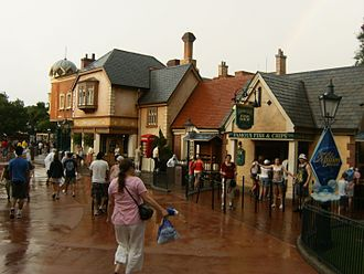 United Kingdom Pavilion at Epcot - Image: The UK in Epcot