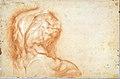 The Virgin Adored by Saints (recto); Study of the Torso Belvedere (verso) MET DT5365.jpg