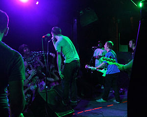 The Wonder Years (band) - The Wonder Years Performing live in 2009