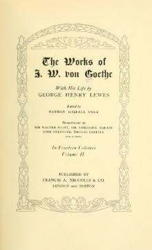The Works of J. W. von Goethe, Volume 2.djvu