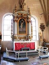 Fil:The altar Björklinge church Uppsala Sweden.JPG
