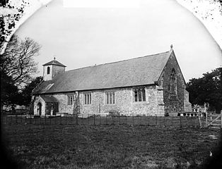 The church, Llandrinio (Monts)