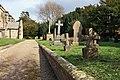 The churchyard, Bainton - geograph.org.uk - 804545.jpg
