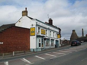 Longport, Staffordshire - The former Pack Horse Inn
