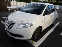 The frontview of Chrysler Ypsilon Gold.JPG
