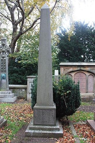 Brownlow North (evangelist) - The grave of Brownlow North, Dean Cemetery, Edinburgh