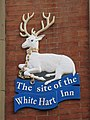The site of the White Hart Inn (sign) - geograph.org.uk - 671806.jpg