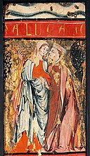 The visitation of the Blessed Virgin Mary to Saint Elizabeth Wellcome Library.jpg