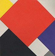 Theo van Doesburg: Arithmetische Compositie (1924)