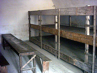 Theresienstadt concentration camp - Cell