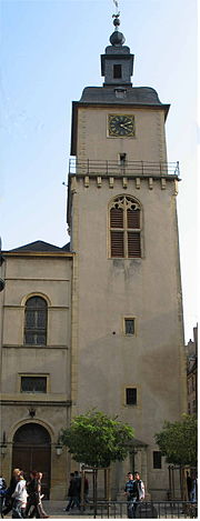 Thionville bell tower