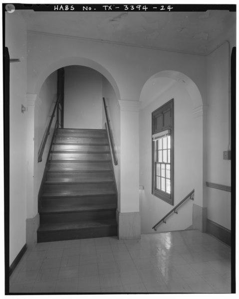 File third floor view of stairs looking northeast del for 100 floors 3rd floor