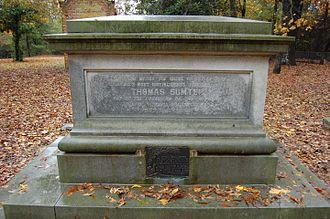 Thomas Sumter - Gravesite of Thomas Sumter