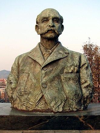 Thomas Blake Glover - Statue of Thomas Blake Glover in Glover Garden, Nagasaki