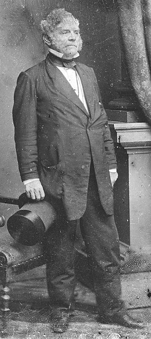 Thomas Holliday Hicks - Image: Thomas Holliday Hicks photo portrait standing