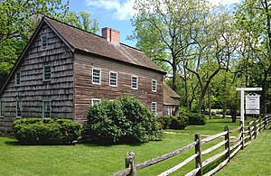 Setauket-East Setauket, New York - The c. 1709 Thompson House housed five generations of farmers and doctors before it was bought and restored by philanthropist Ward Melville