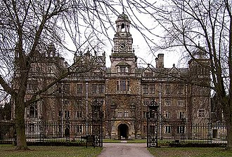 Thoresby Hall - The hall in 2006