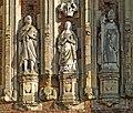 Thornton Abbey - Gatehouse Statues - geograph.org.uk - 693839.jpg