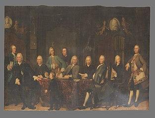 De regenten van het Aalmoezeniersweeshuis