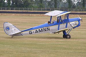 United Kingdom aircraft registration - Image: Tiger Moth G AMNN