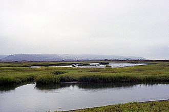 Tijuana River National Estuarine Research Reserve - The Tijuana River Estuary.