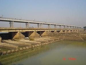 Mayurakshi River - Tilpara Barrage near Suri