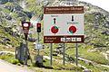 Timetable panoramic road to Oberaar - panoramio.jpg