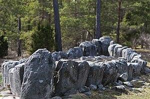 Boge, Gotland - Tjelvars Grave in Boge