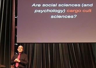 European Skeptics Congress - Tomasz Witkowski lecturing at the 15th European Skeptics Congress 2013.