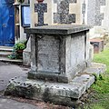 Tomb of the Hall family in the churchyard of St Nicholas.jpg