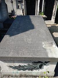 Tombe de Emile Aubrun (cimetière de Montmartre).JPG